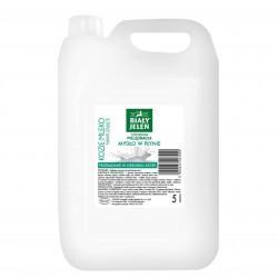 Biały jeleń - Kozie mleko mydło nawilżające