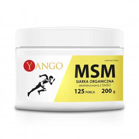 MSM - Siarka organiczna - ekstrahowana z DMSO - 200g