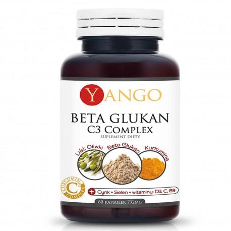 Beta Glukan C3 Complex 60 kapsułek