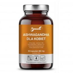Ashwagandha dla kobiet 50 kapsułek Panaseus