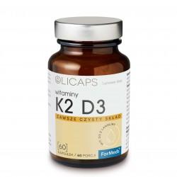 Olicaps K2 D3 - Witamina D3 K2 mk7 60 kaps