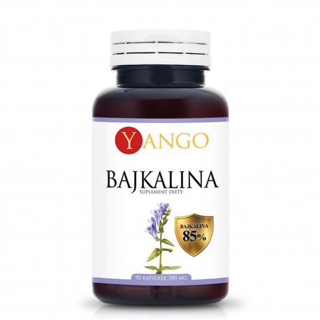 Bajkalina - ekstrakt z tarczycy bajkalskiej 300 mg 90 kapsułek