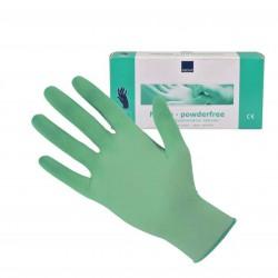 ABENA rękawice nitrylowe zielone, rozmiar S (100szt./op.)