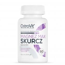 Magnez Max Skurcz - Cytrynian Magnezu 60 tab OstroVit