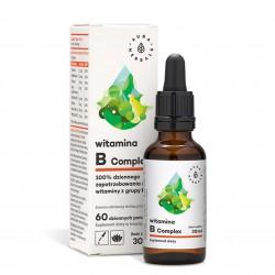 Witamina B Comlex w kroplach 30 ml - Aura Herbals