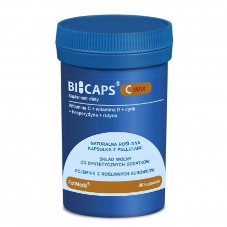 Bicaps C Max Wit. C, D3, Cynk, Rutyna 90 kaps