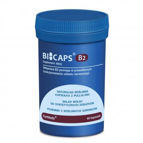 Bicaps Witamina B2 - wsparcie układu nerwowego 60 kap