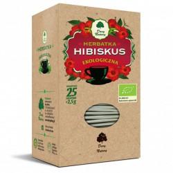 Hibiskus - Herbatka Ekologiczna 25 x 2,5 g