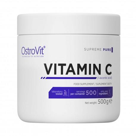 Supreme Pure Vitamin C 500 g - Witamina C OstroVit