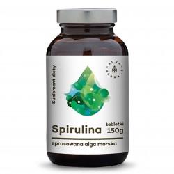 Spirulina - 600 tabletek (150g) - Aura Herbals