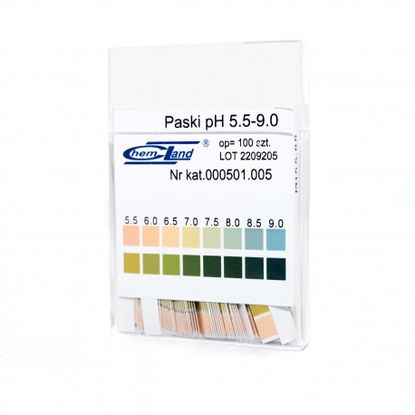 Paski pH- fIx 5,5-9-0 - 2 polowe 100 szt.