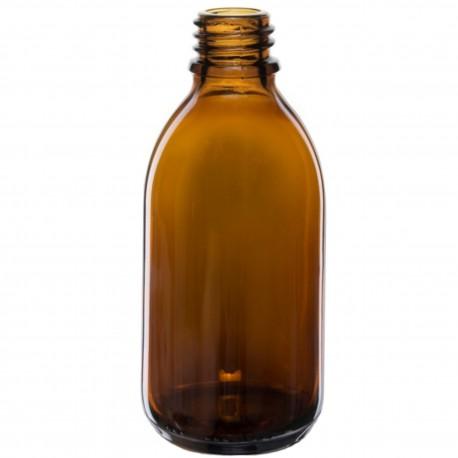 Butelka szklana 250 ml 28/410 z nakrętką