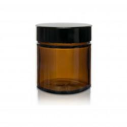 Słoik szklany brązowy z nakrętką 60 ml