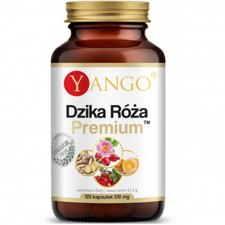 Dzika Róża Premium - 120 kapsułek - Yango
