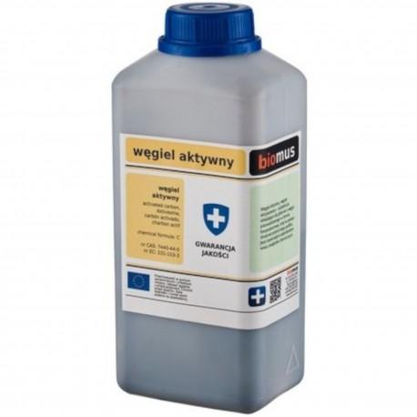 Węgiel aktywny pylisty 250 g Biomus