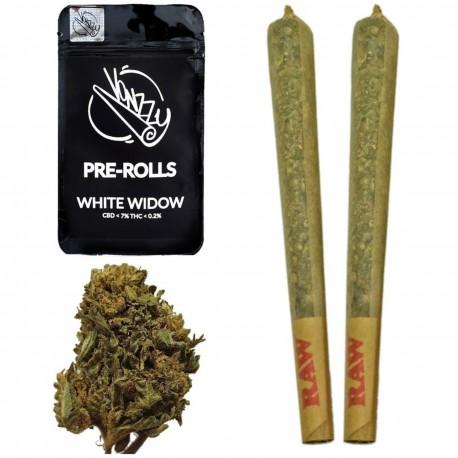 Joint CBD White Widow Vonzzy Pre-Rolls w opakowaniu 2 szt.