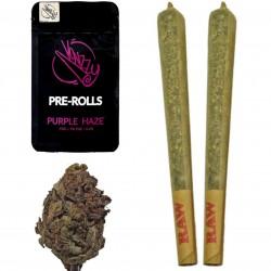 Joint CBD Purple Haze Vonzzy Pre-Rolls w opakowaniu 2 szt