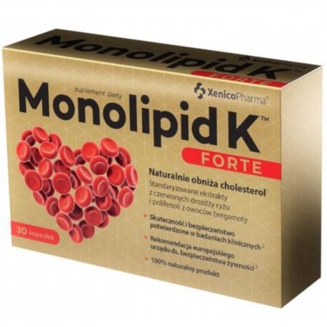Monolipid K forte 30 kaps.