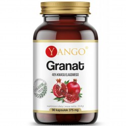 Granat - ekstrakt ze skórki - 90 kapsułek