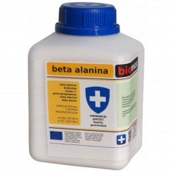 Beta alanina Kwas 3-aminopropanowy 250g