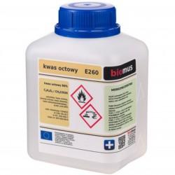 Esencja octowa czysta E260 - Ocet r-r 80% 500ml