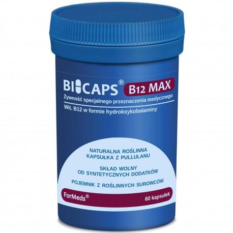 ForMeds BiCaps Witamina B12 MAX 1000 mcg 60 kapsułek