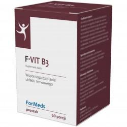 F-Vit B3 Witamina B3 Niacyna 50mg 60 porcji 48g ForMeds