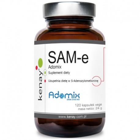 SAM-e S-Adenosyl-L-Methionine ADOMIX 120 kaps