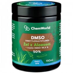 DMSO żel z Aloesem 50% 190ml