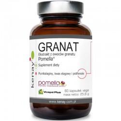 Granat ekstrakt z owoców pomella 60 kaps. Kenay