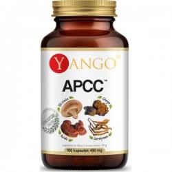 APCC - reishi, shitake, kordyceps, chaga - 100 kapsułek Yango