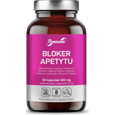 Bloker apetytu - 50 kapsułek - Panaseus