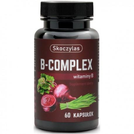 Witamina B Complex B1 B2 B3 B5 B6 B12 Foliany 60 k