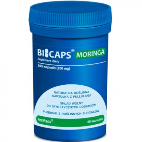 Bicaps Moringa ekstrakt z liści Moringi 60 kaps.
