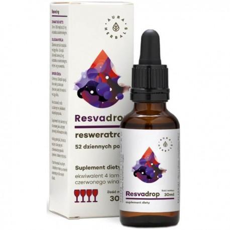 Resvadrop - Resweratrol w kroplach 30ml