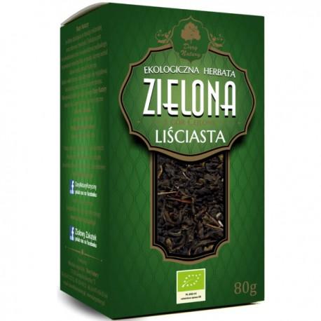 Zielona herbata liściasta 80g - Dary Natury