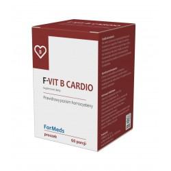 F-Vit B Cardio - Witamina B6, B12 oraz kwas foliowy PP 60 porcji