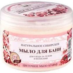 Kwiatowe mydło Agafii 500 ml