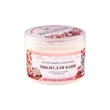 Kwiatowe mydło Agafii 500ml
