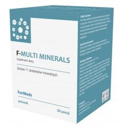 F-multi Minerals - 11 Minerałów w proszku 30 porcji 212,4 g