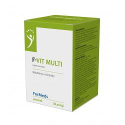F-vit Multi - Kompozycja 12 Witamin 30 porcji
