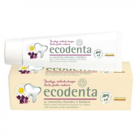 Ecodenta - Pasta dla dzieci o smaku czarnej porzeczki