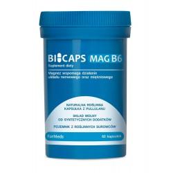 Bicaps Mag B6 - Cytrynian Magnezu z Witaminą B6 60 kaps