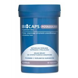 Bicaps Potassium - Potas 60 porcji