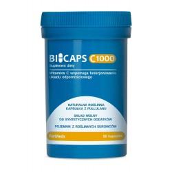 Bicaps C 1000 - Witamina C 60 kapsułek ForMeds