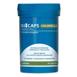 Bicaps Chlorella Portugalska 60 kapsułek