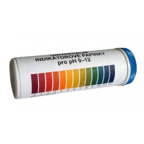 PAPIERKI LAKMUSOWE paski pomiar pH 1-12 100 szt
