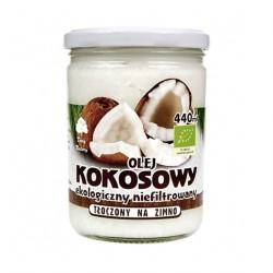 Olej Kokosowy Ekologiczny Niefiltrowany