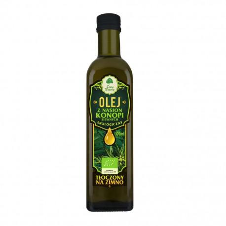 Olej z nasion konopi siewnych eko