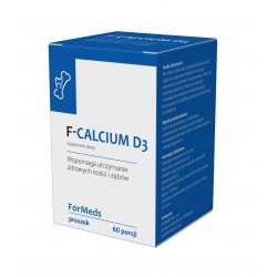 F-Calcium D3 Wapń Witamina D3 w proszku 78 g